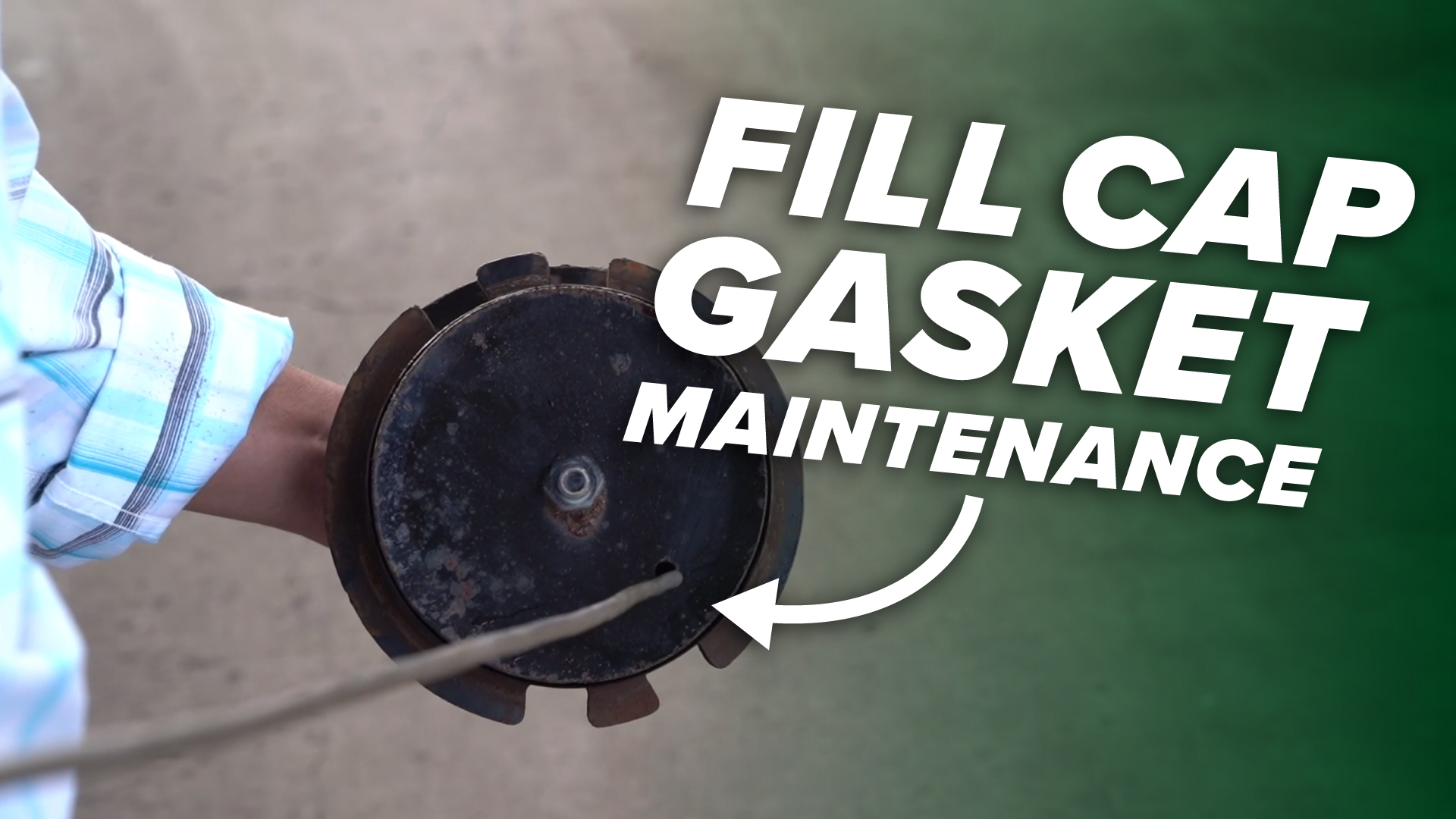 DB-Academy - Fill Cap Gasket Maintenance