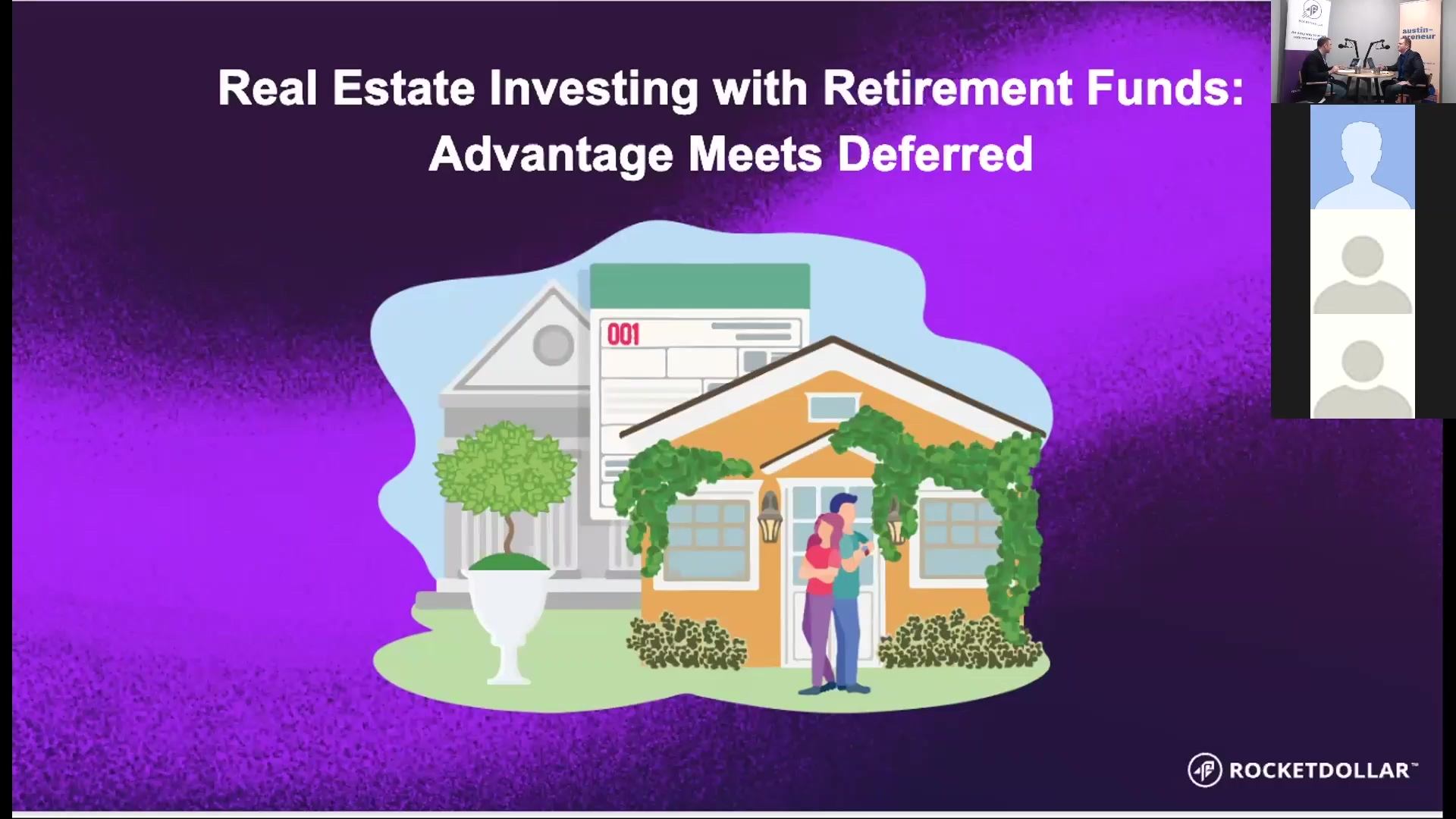 Real Estate Investing With Retirement Funds Webinar Recording