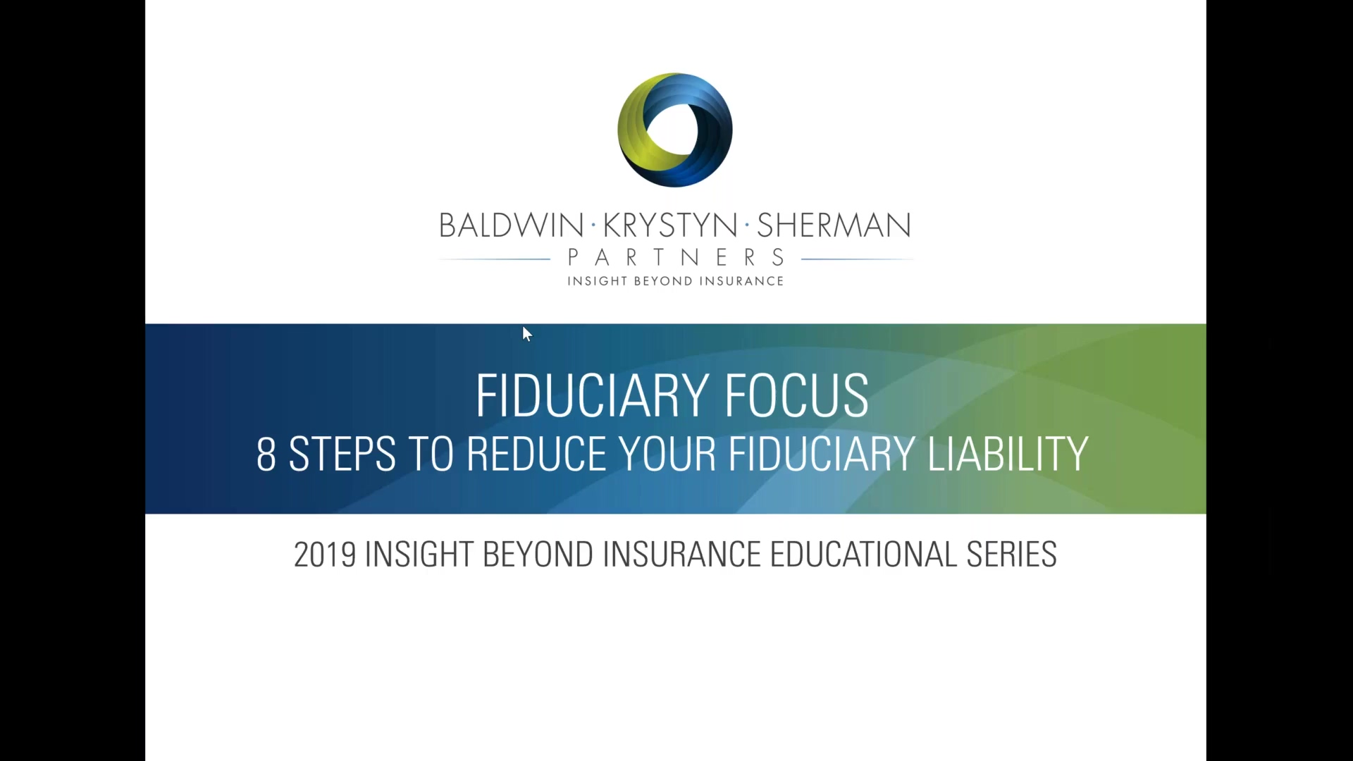 8 Steps to Reduce your Retirement Plan Fiduciary Liability