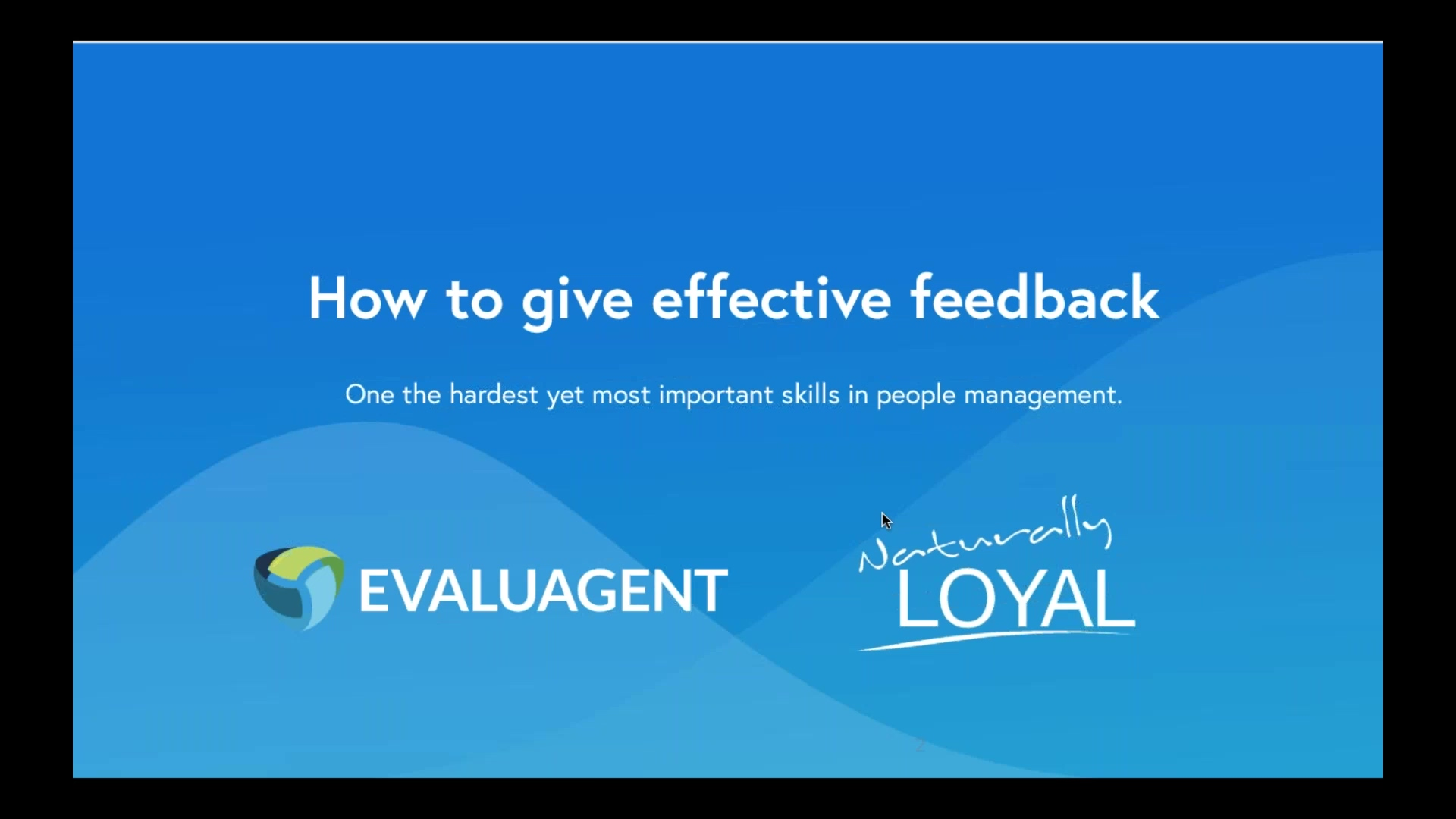 Webinar Wednesdays - How to give effective feedback with Caroline Cooper