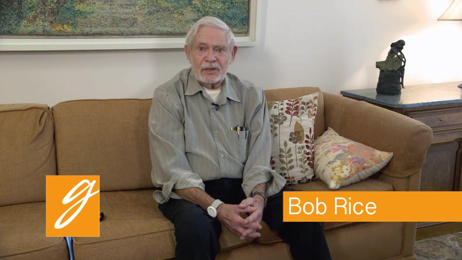Bob Rice Testimonial