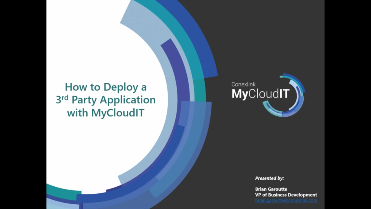 MyCloudIT_ How to Deliver a 3rd Party Application in Azure (Quickbooks)