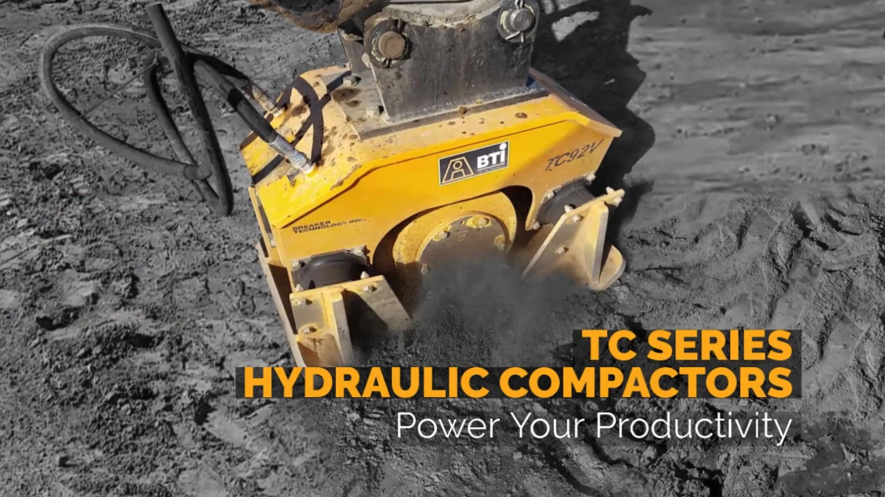 Breaker Technology   TC Hydraulic Compactor Series   Power Your Productivity