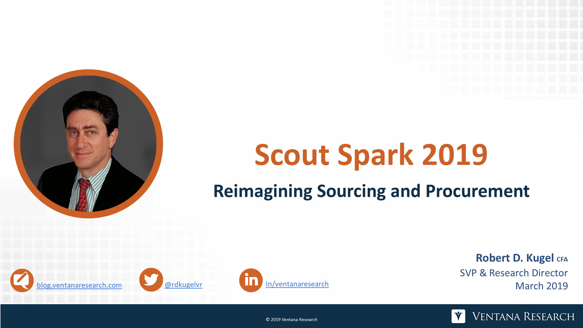 Ventana_Research-Robert_Kugel-Scourt_RFP_Spark_2019-Analyst_Perspective