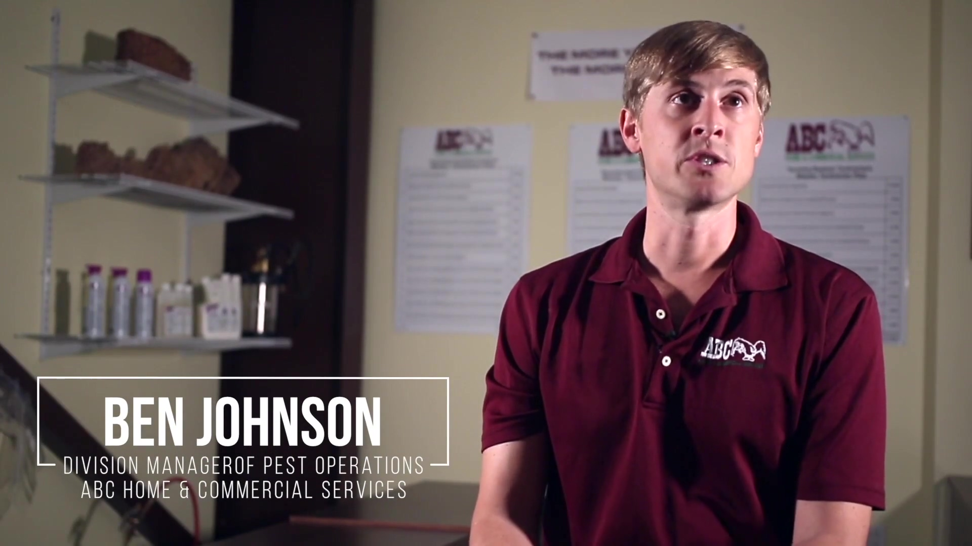 Combination Chemistry - ABC Home and Commercial Services Testimonial