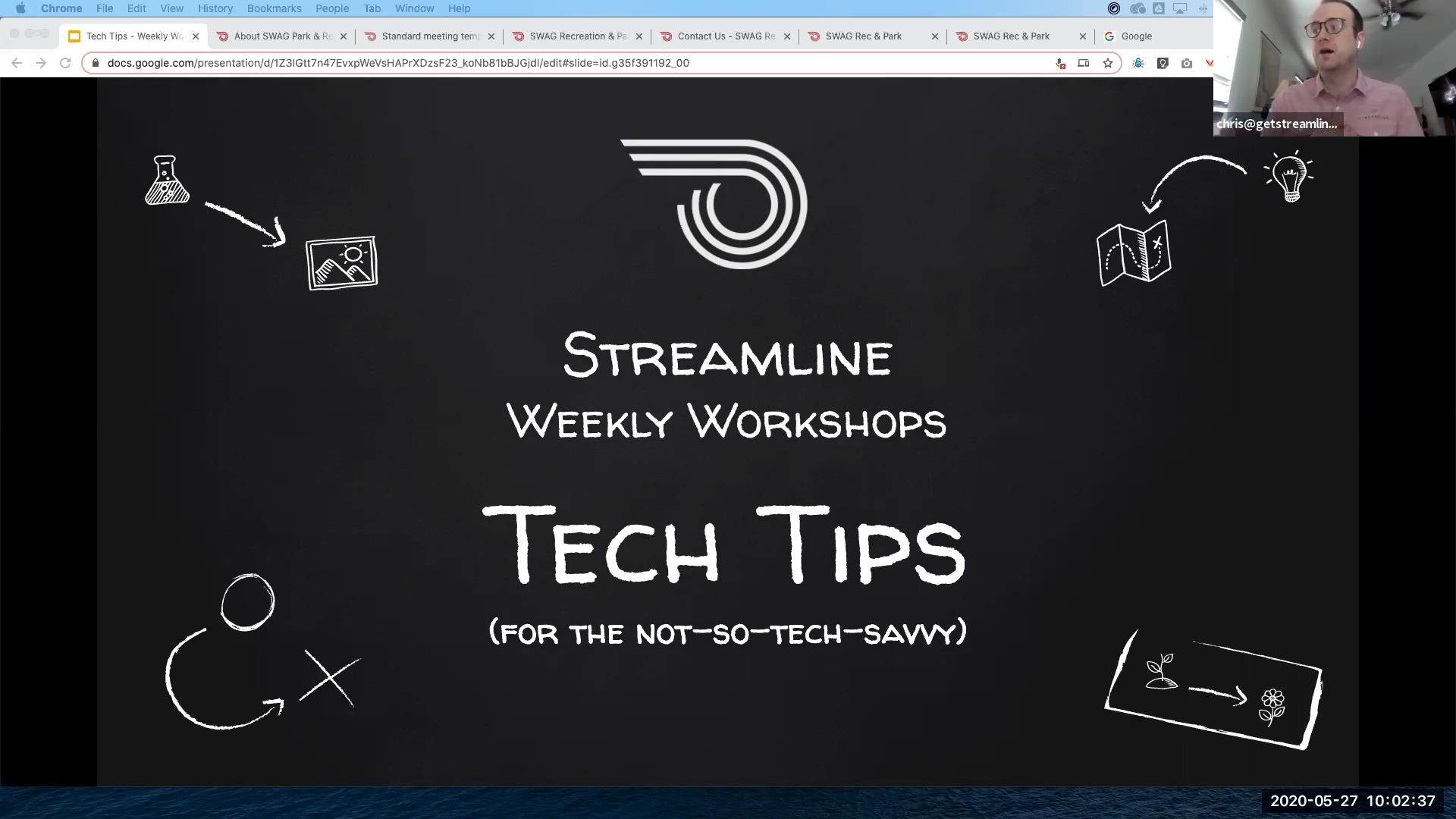 Streamline-workshop-techtips