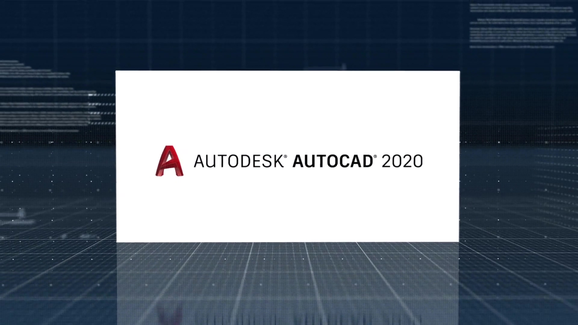 19 Q2 CDC MFG AutoCAD 2020 product overview video