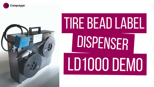Tire Label Dispenser - LD 1000 Demo