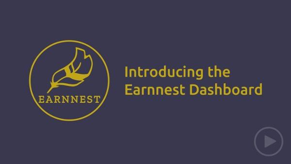 Earnnest Dashboard Walkthrough