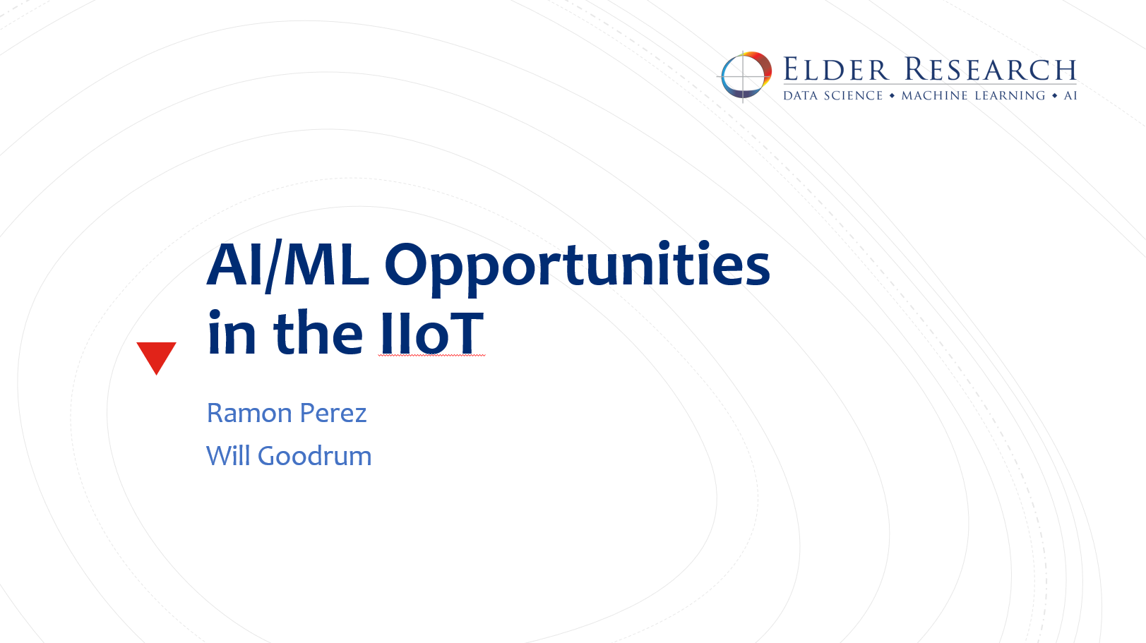Webinar_AI & ML Opportunities for the Industrial Internet of Things