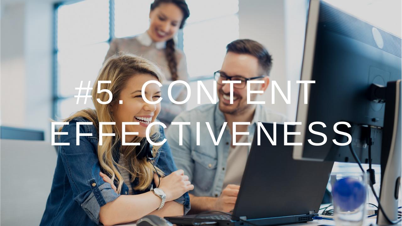 9IM Metrics 5. Content Effectiveness