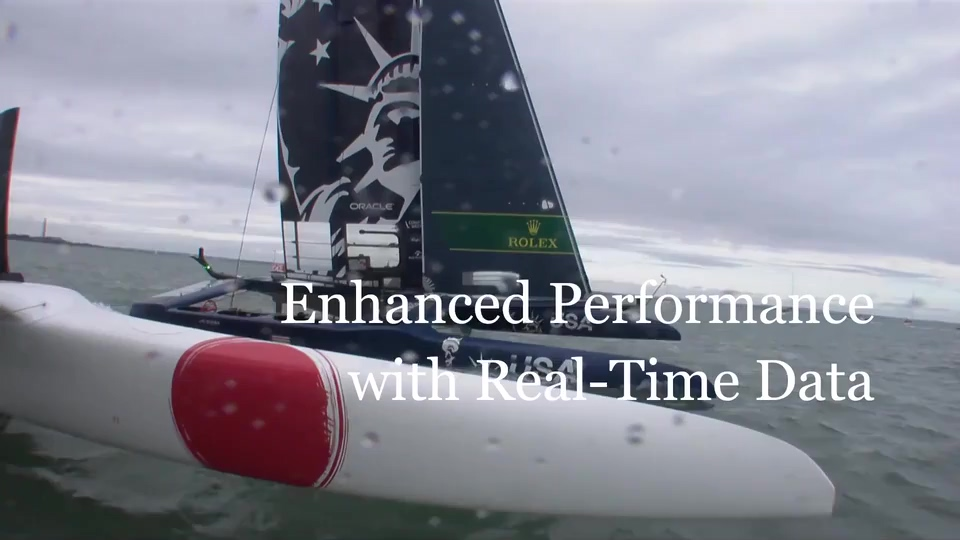 Oracle and SailGP—Real-Time Analytics—Enhanced Performance
