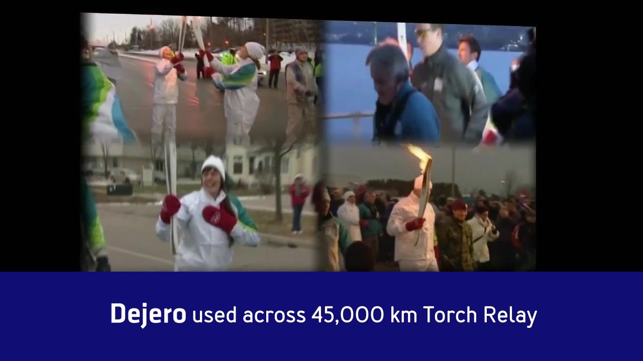 Dejero and the Olympic Torch Relay