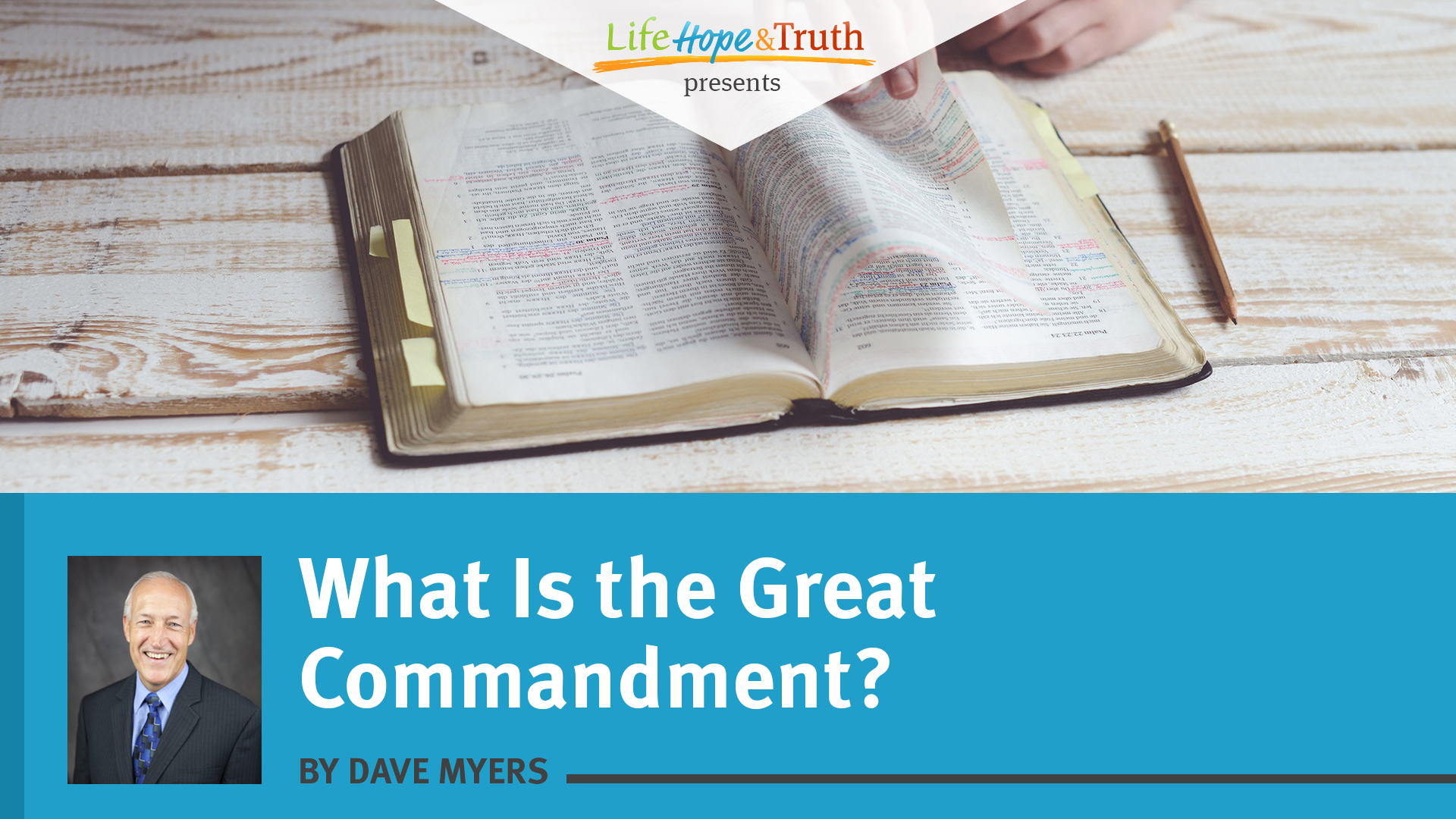 What Is the Great Commandment?