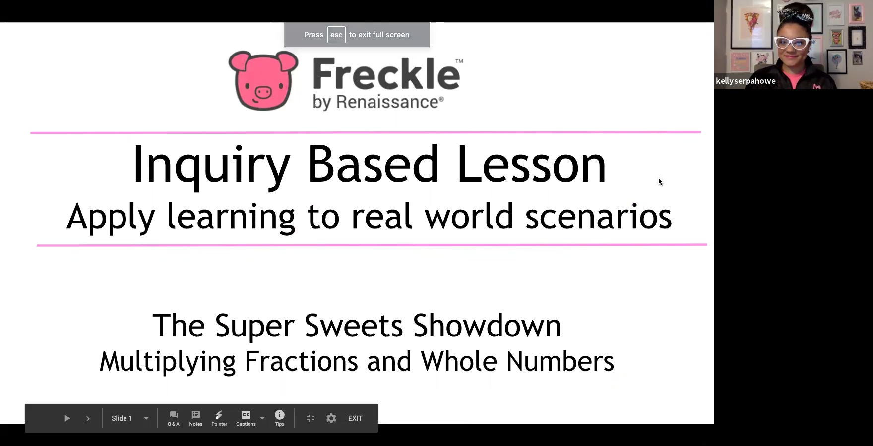 Free IBL Products and Fractions Day 2