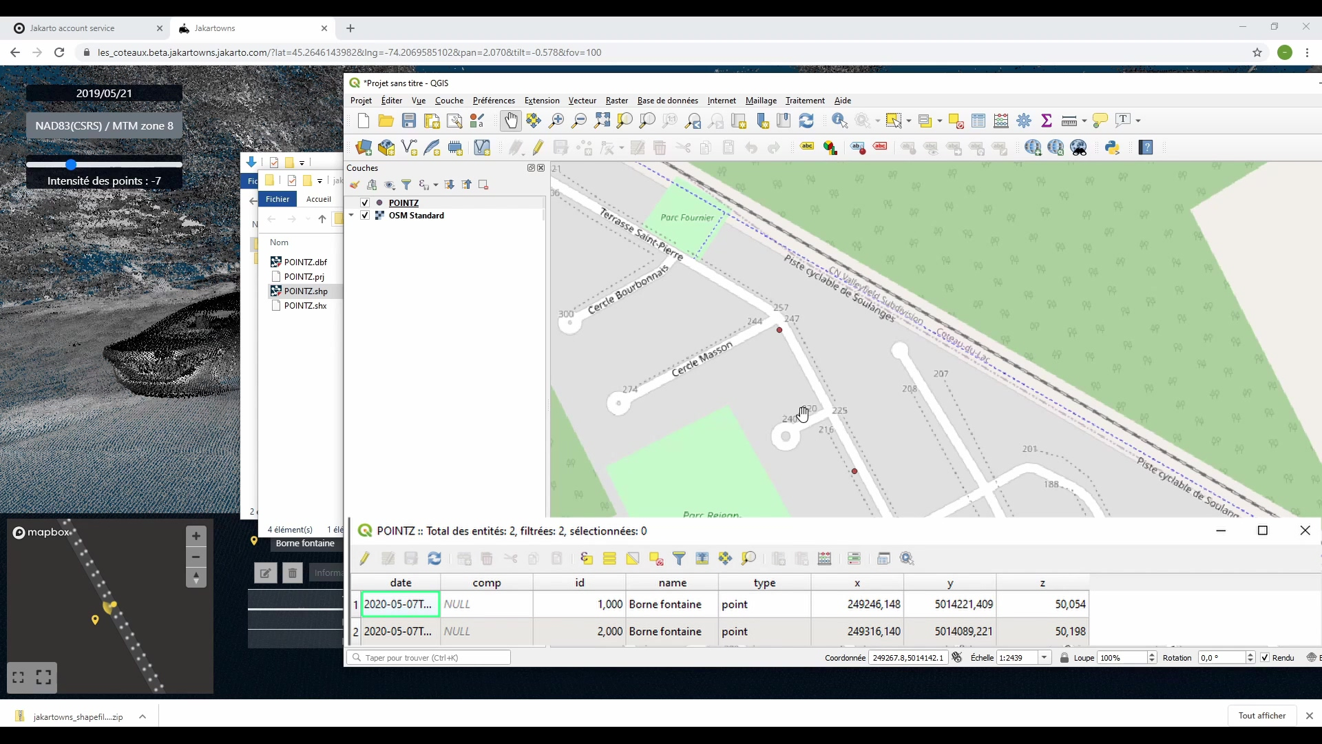 4_5__How to export Jakartowns data into my GIS  -- tutorials
