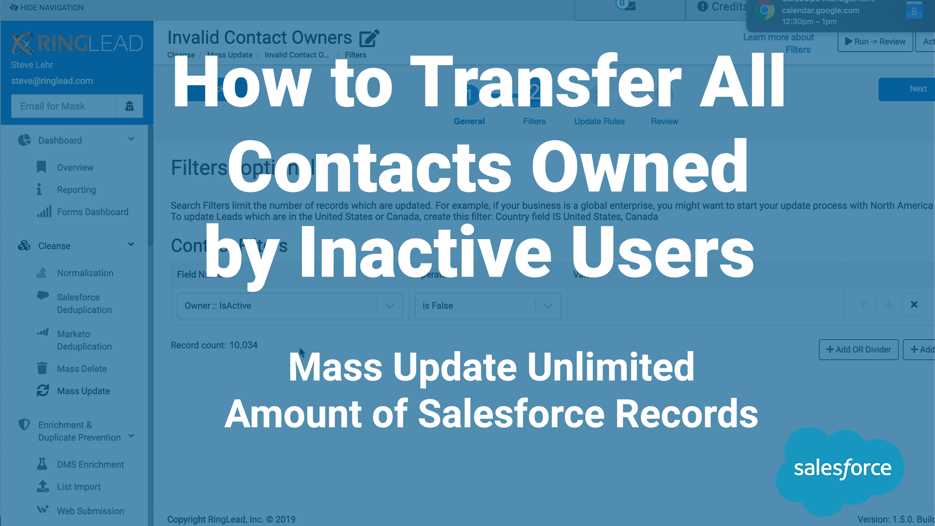How to Transfer All Contacts Owned by Inactive Users