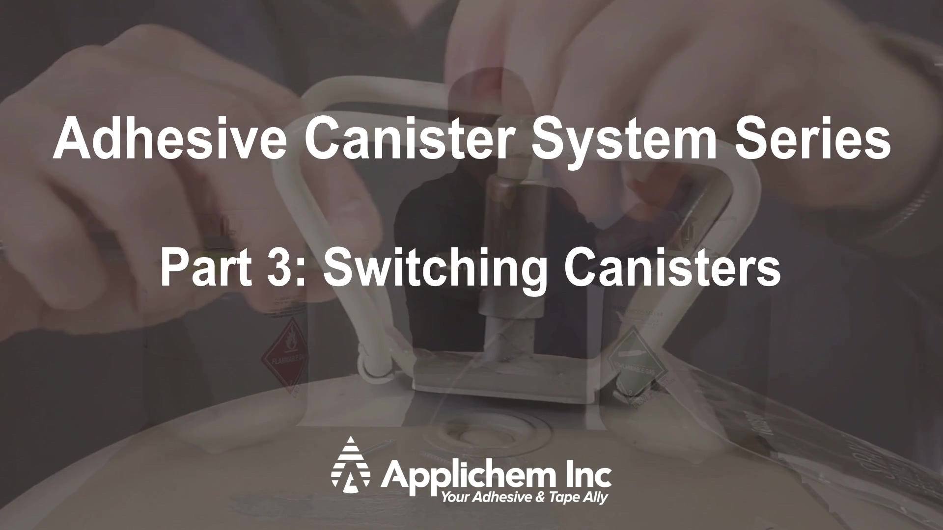 3 - Switching Canisters
