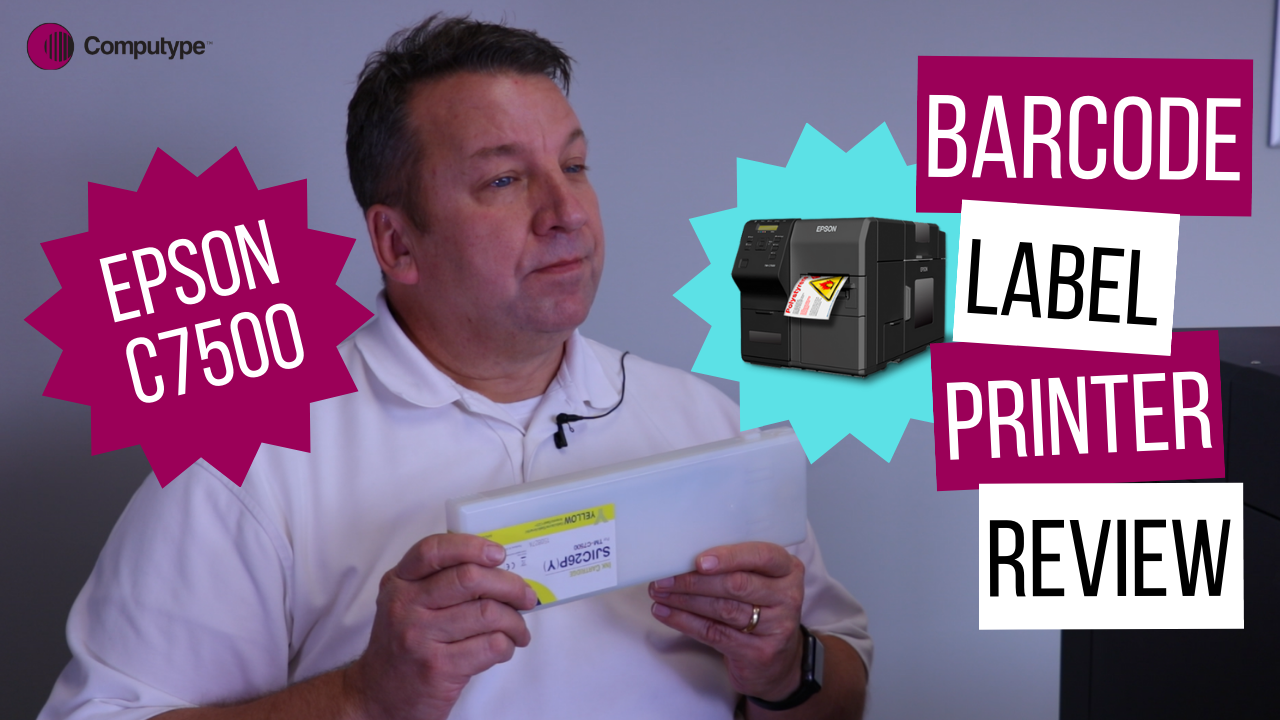 Epson C7500 Barcode Label Printer Review and Demo