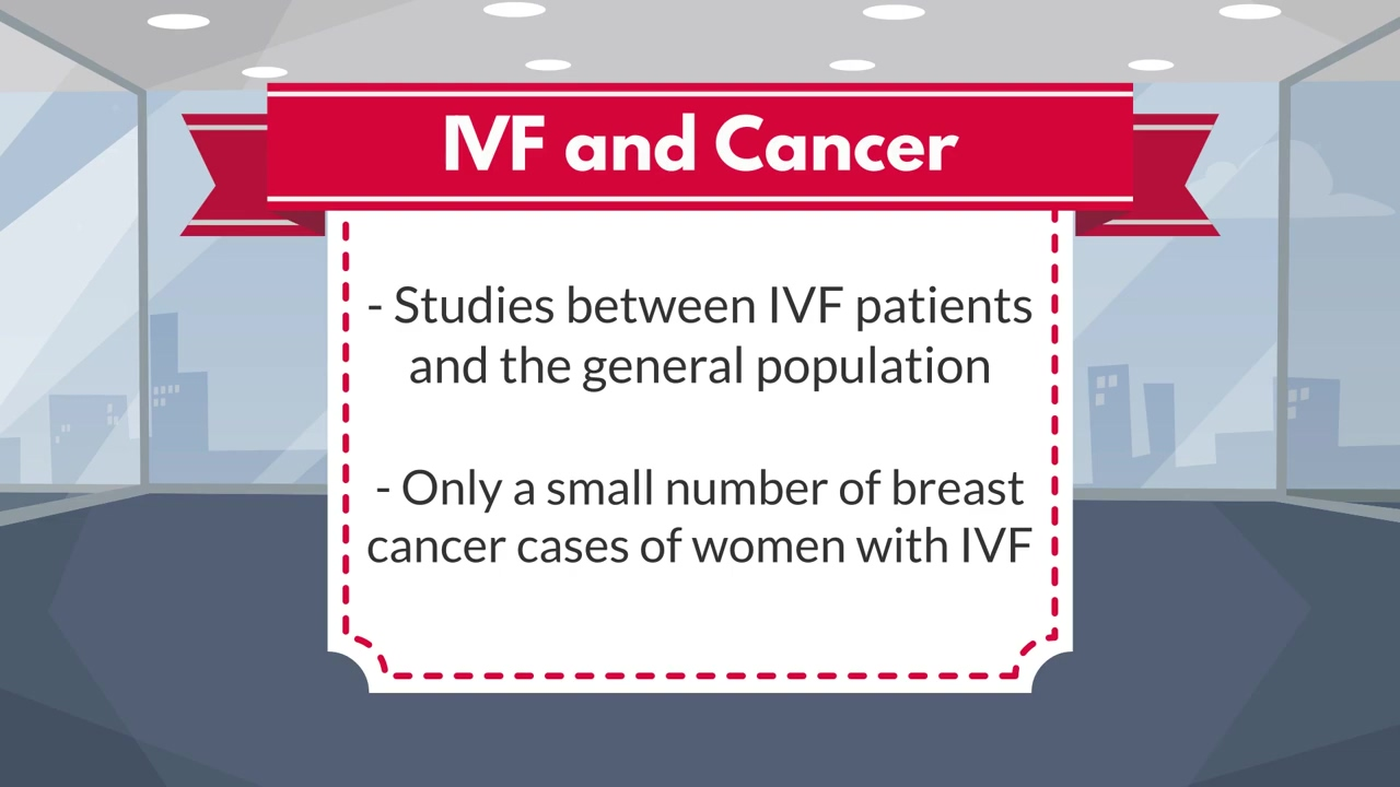 Myth #3 - IVF causes Cancer