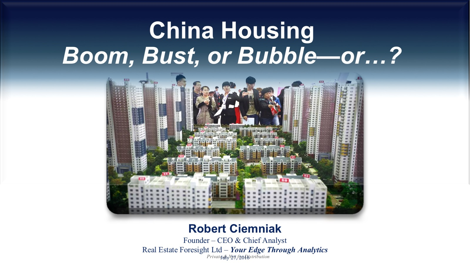 China housing:boom, bust, or bubble-or...?