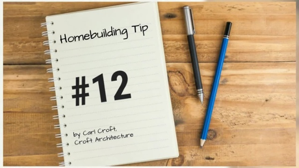 12 Tips of Christmas for Ho Ho Homebuilding. Tip #_HD
