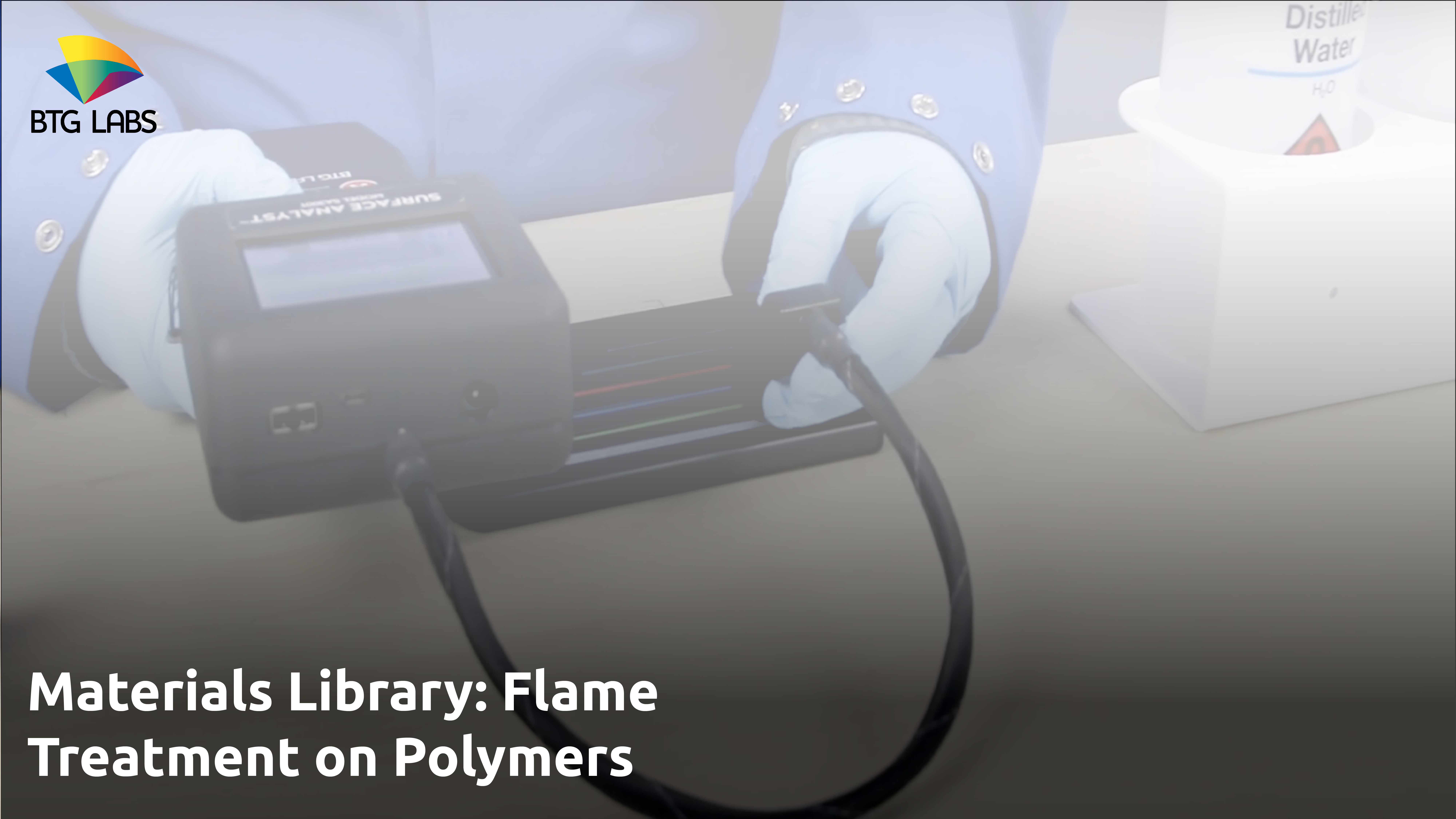 Materials Library - Flame Treatment - Polymers