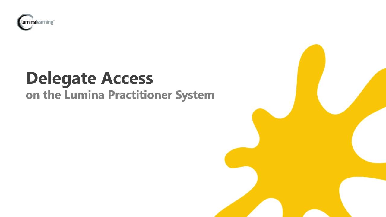Delegate Access