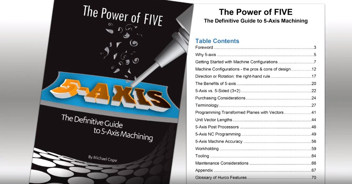 THE POWER OF FIVE_ The Definitive Guide to 5-Axis Machining