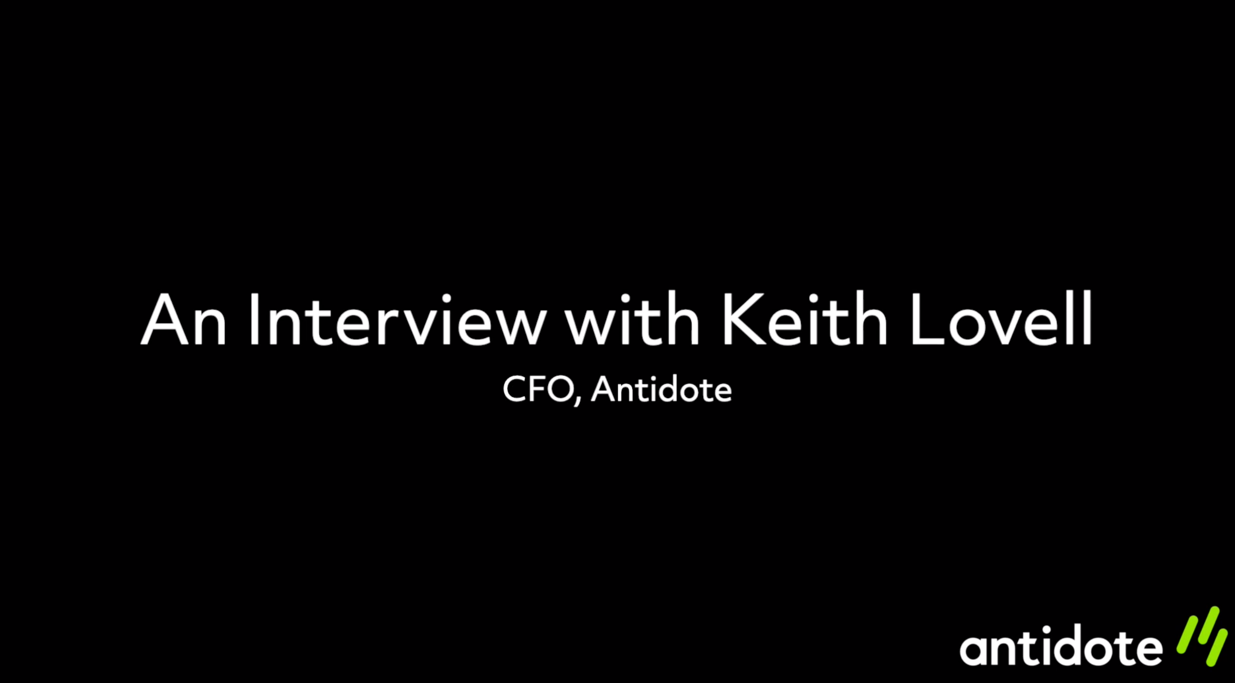 Interview with Keith - Edited v2