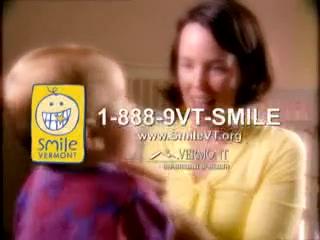 Smile Vermont _Mom_ ad