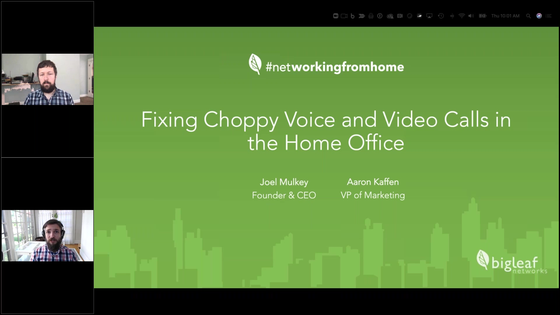 Fixing Choppy Video and Voice Calls in the Home Office