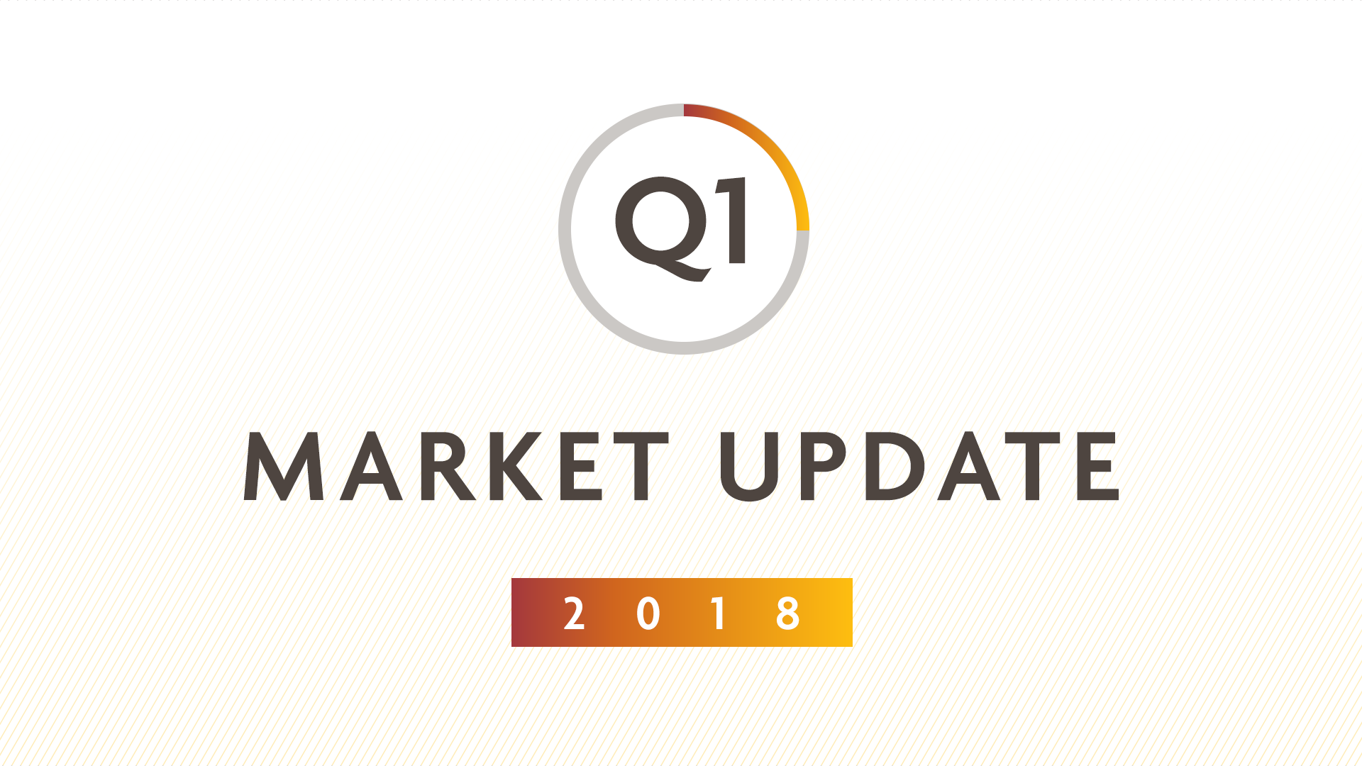 Q1 2018 MARKET UPDATE: Market turmoil -  what now?