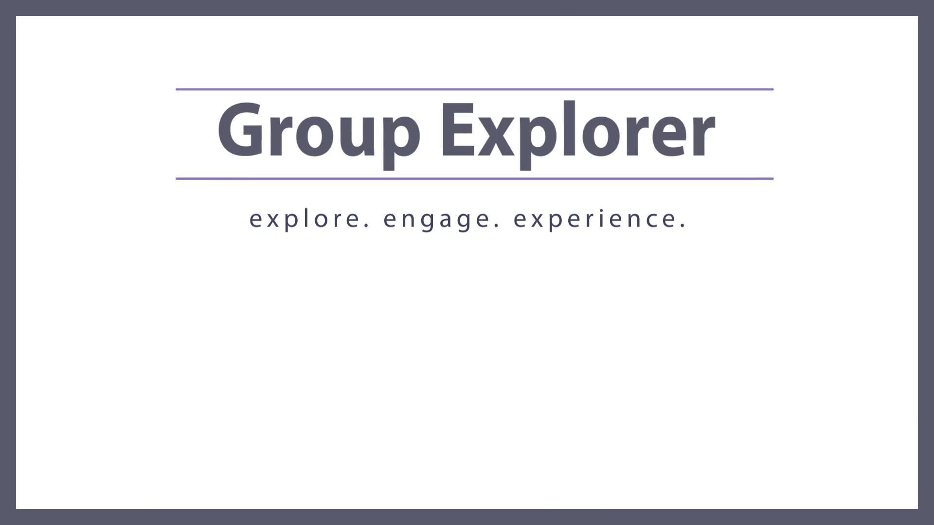 Group Explorer for Office 365