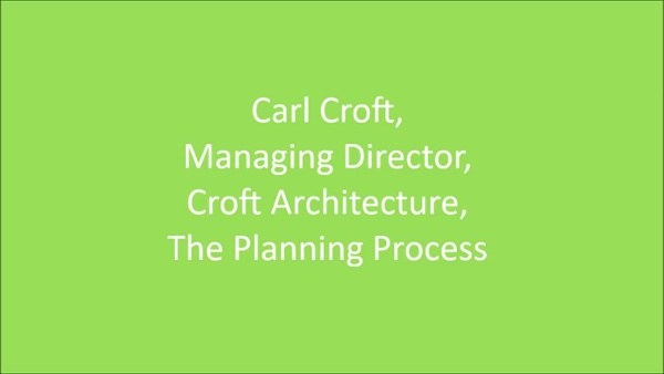 Carl Croft You Tube The Plannng Process