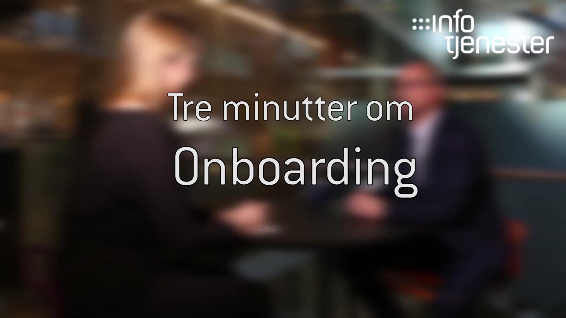 Terje om onboarding PR