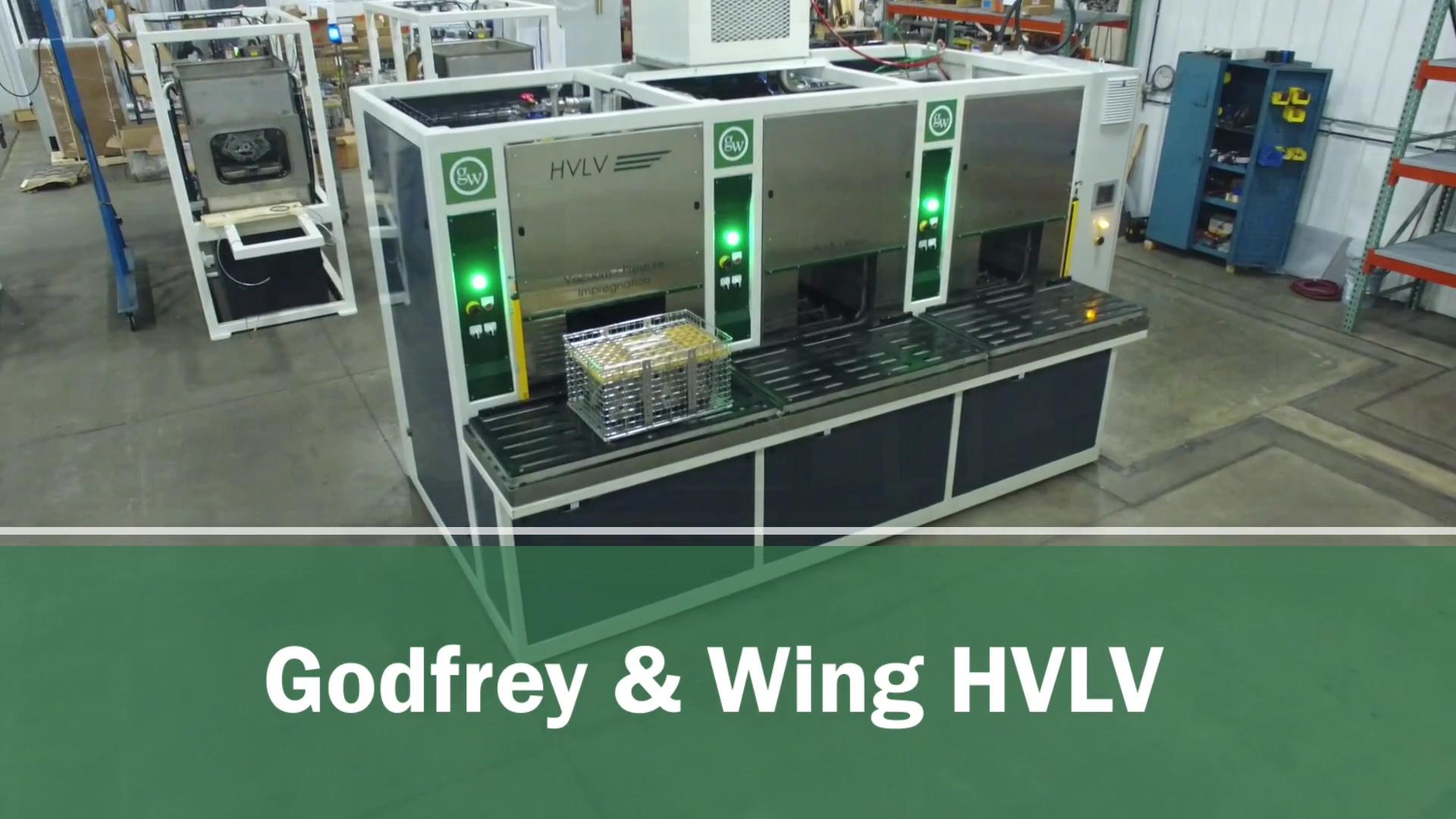 HVLV Vacuum Impregnation System
