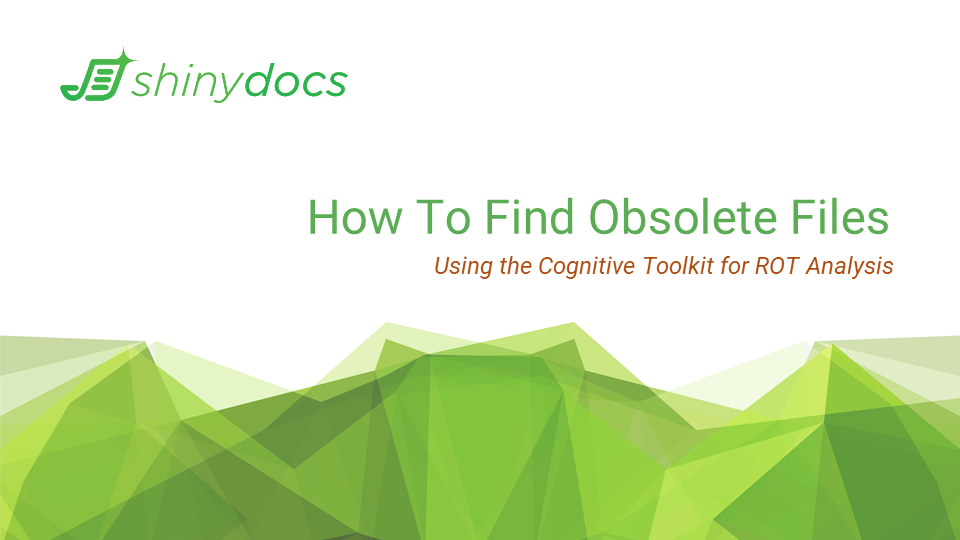 How to Find Obsolete Files