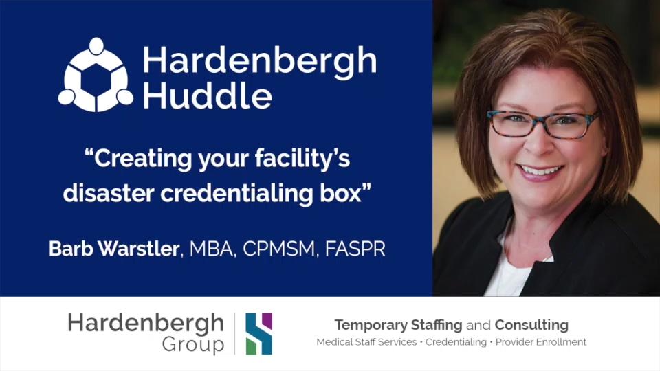 Hardenbergh Huddle Video Post 2C