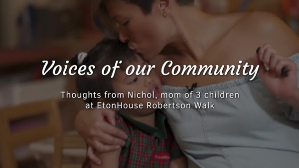 Roberston Walk EtonHouse - Parent sharing