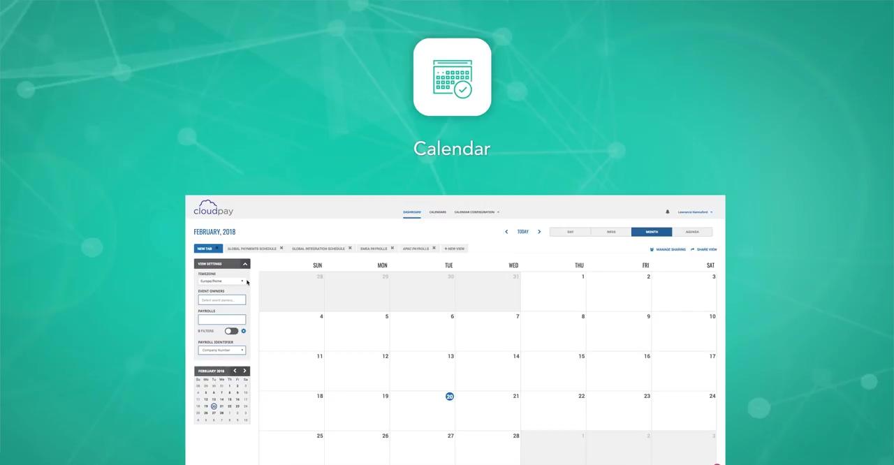Setting Up a Multicountry Payroll Calendar