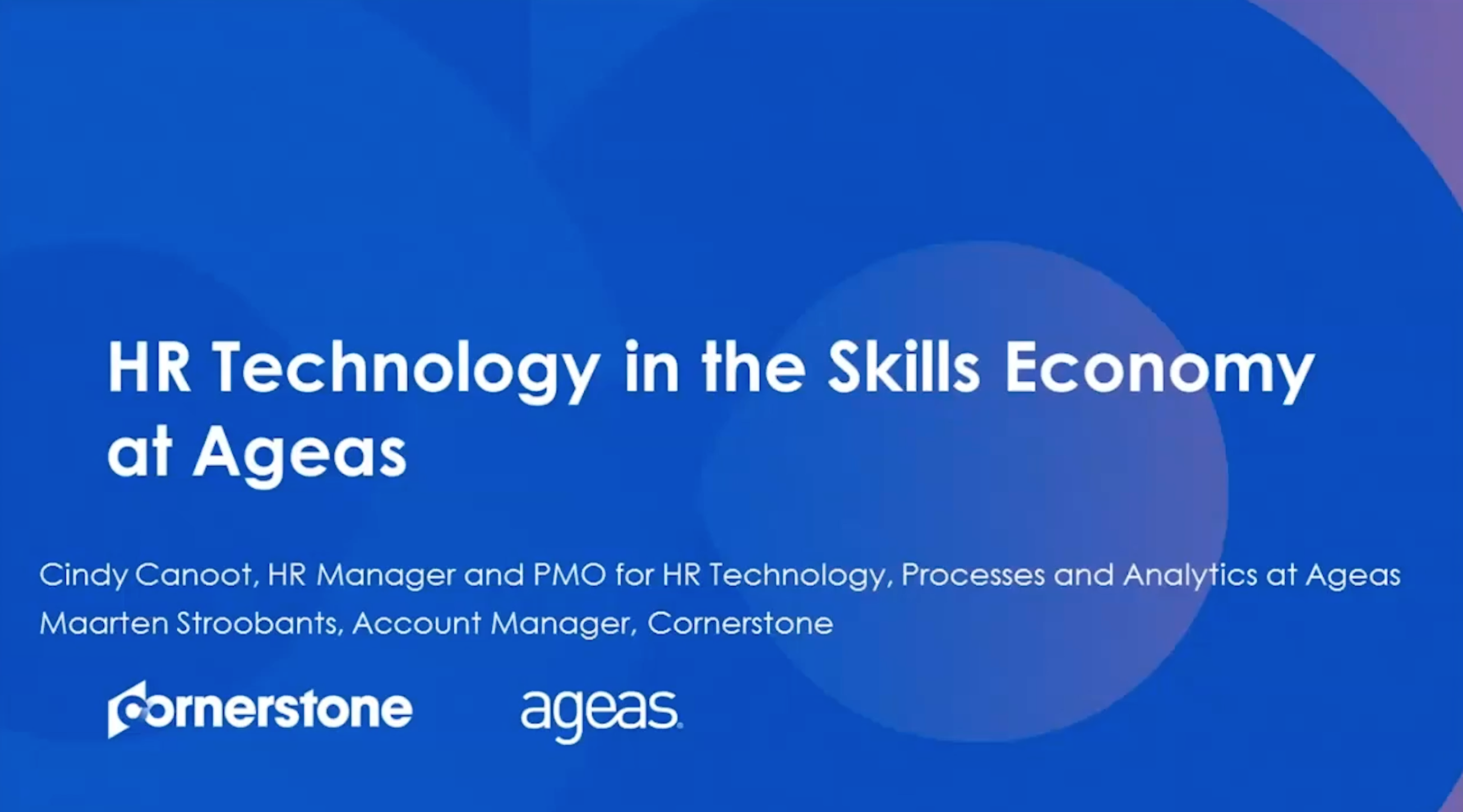 Ageas Thrives in the Skills Economy with Cornerstone HCM