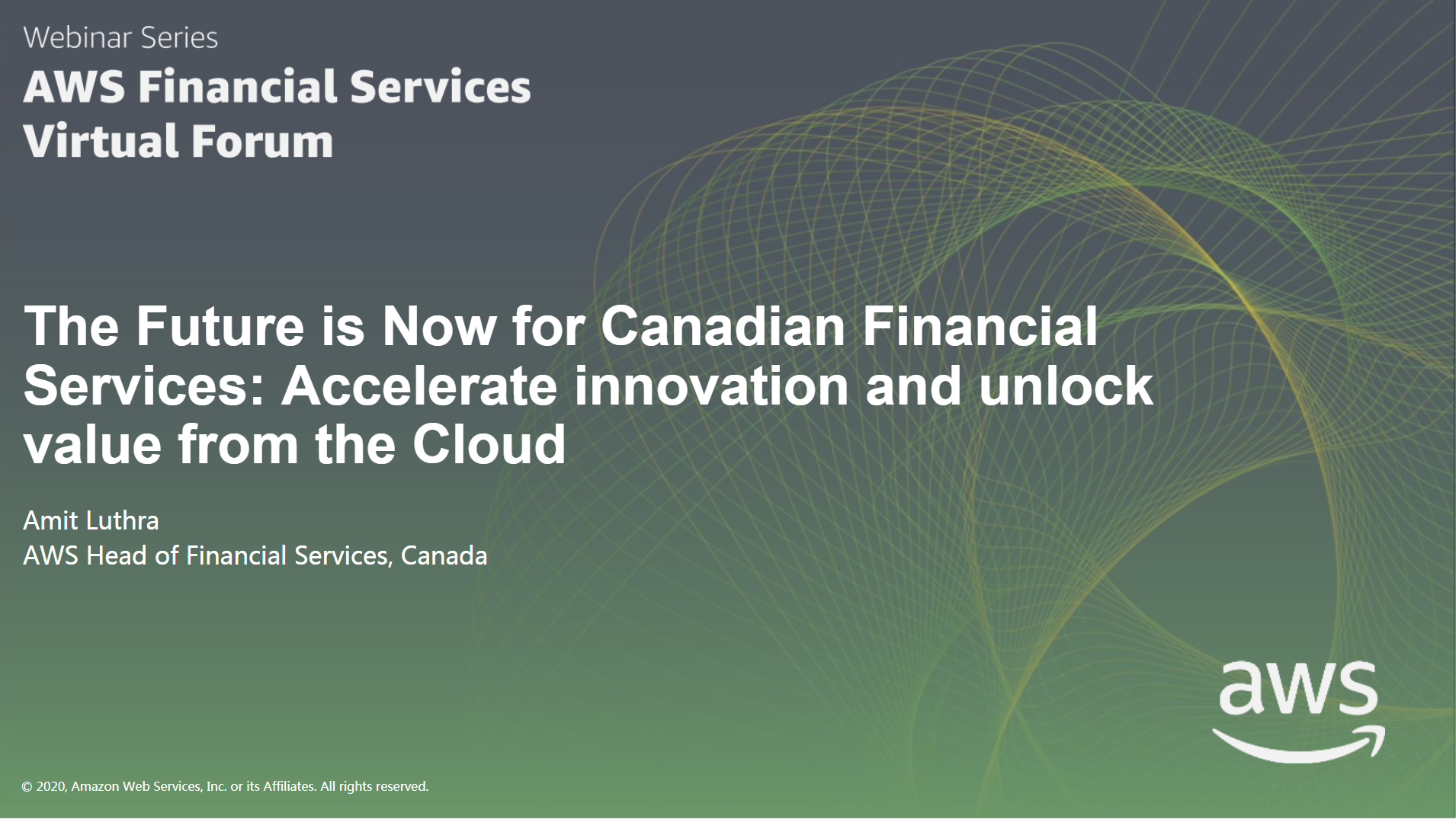The Future is Now for Canadian Financial Services