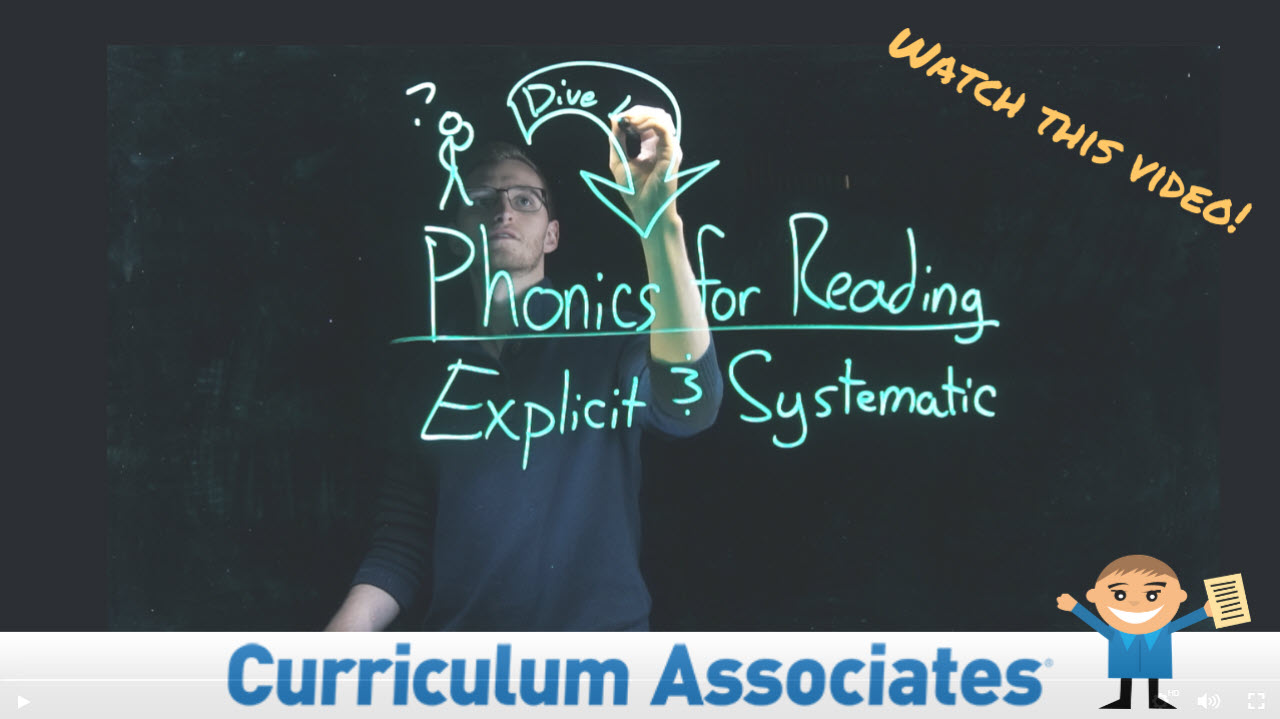 PHONICS for Reading informational video.