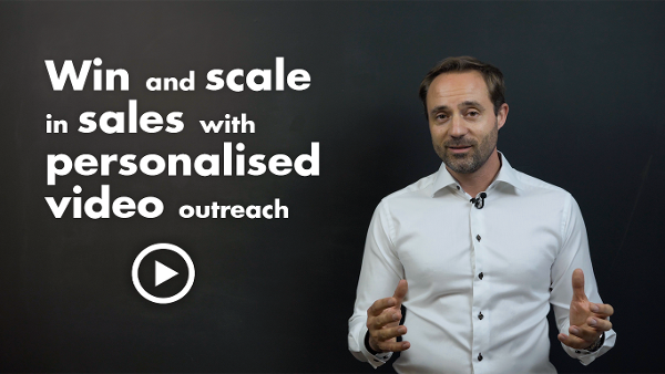 Win and Scale in sales with personalised video outreach
