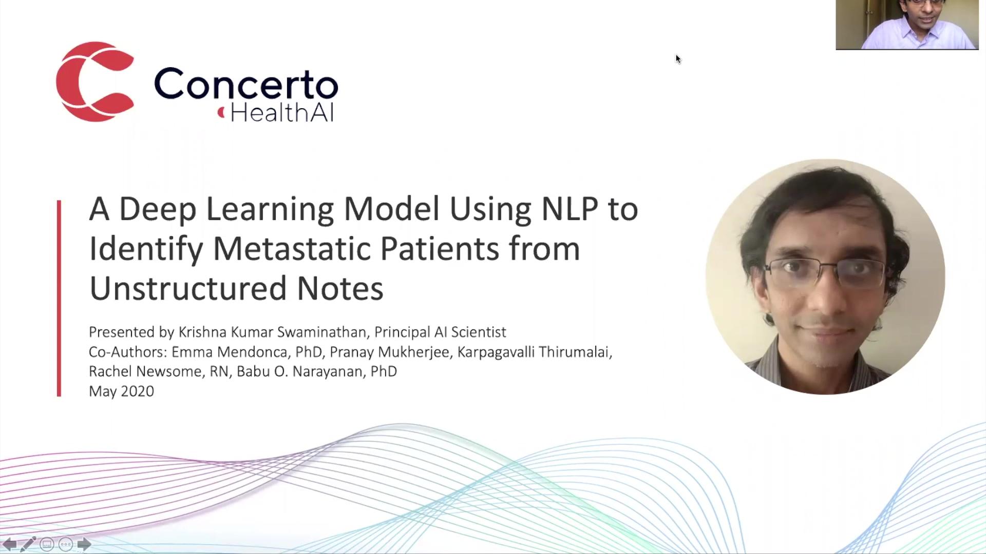 Krishna_NLP to id metastasis_video final