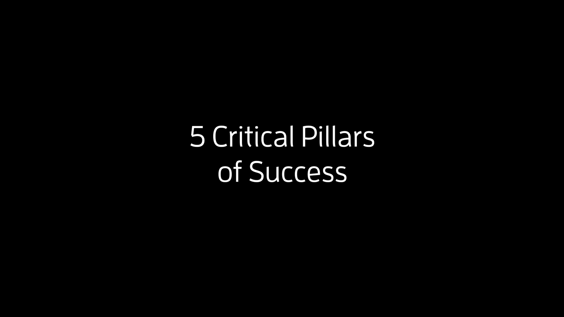 Digital Transformation of Supply Chains - 5 Pillars of Success