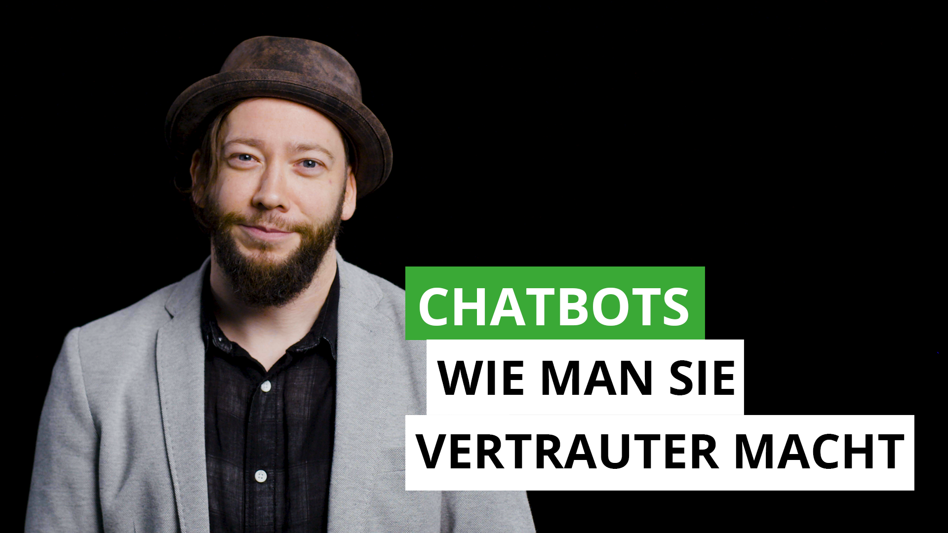 Chatbots- Wie man sie vertrauter macht