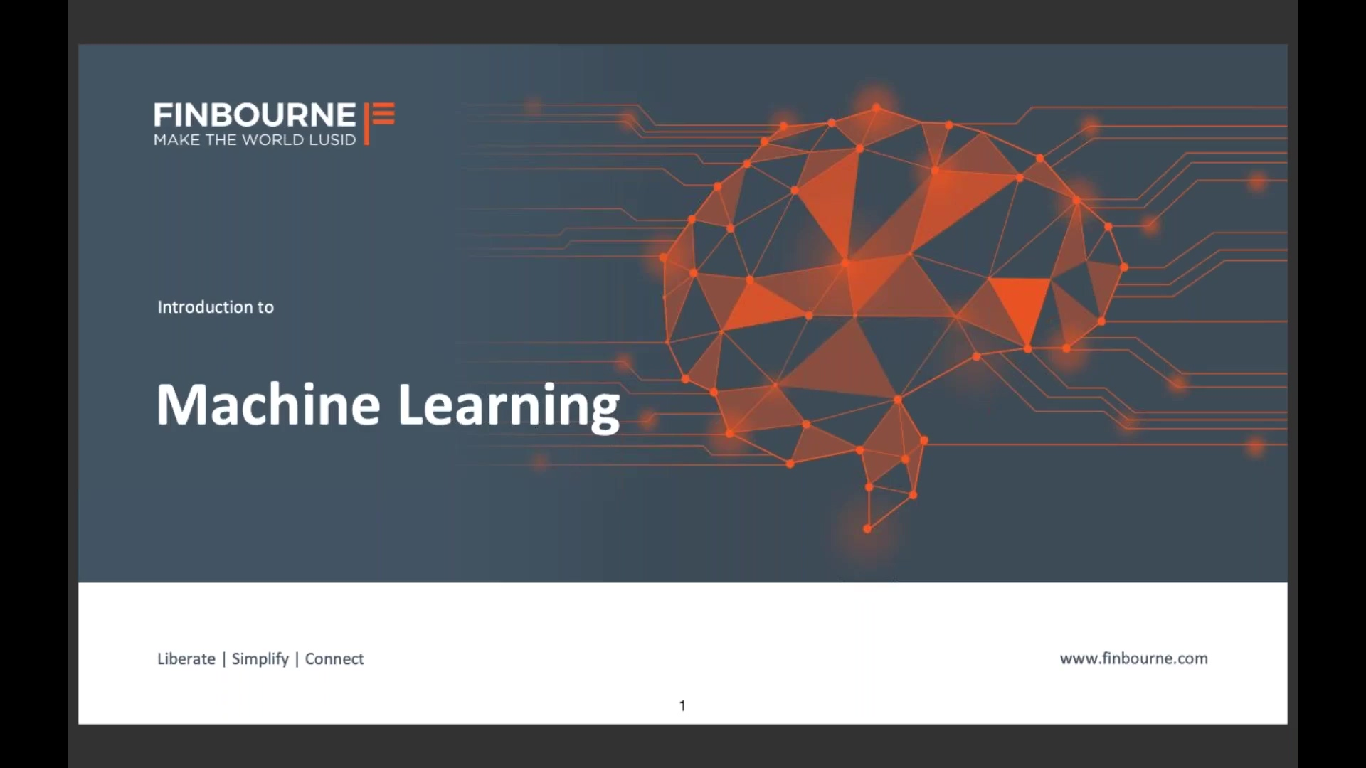 An introduction to Machine Learning (1)
