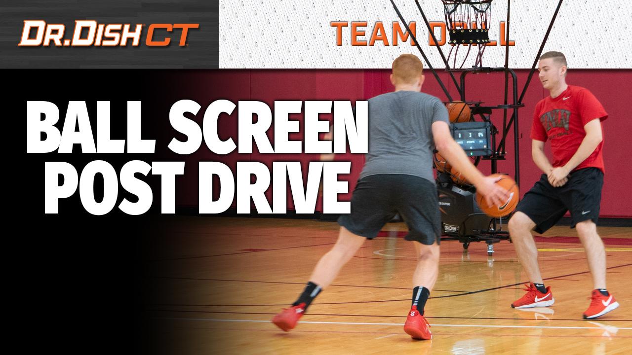 UNLV - Ball Screen Post Drive - YT
